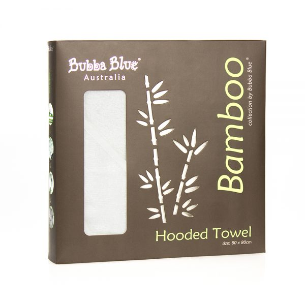 Bubba Blue Bamboo Hooded Towel