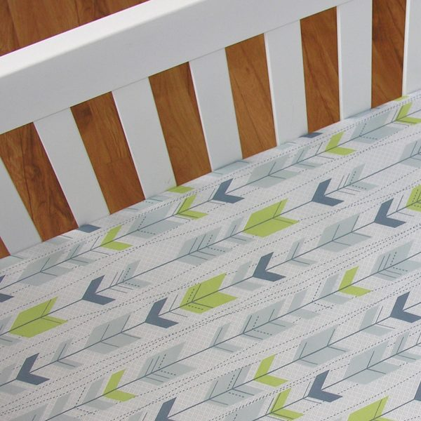 Living Textiles Jabali Cot Fitted Sheet