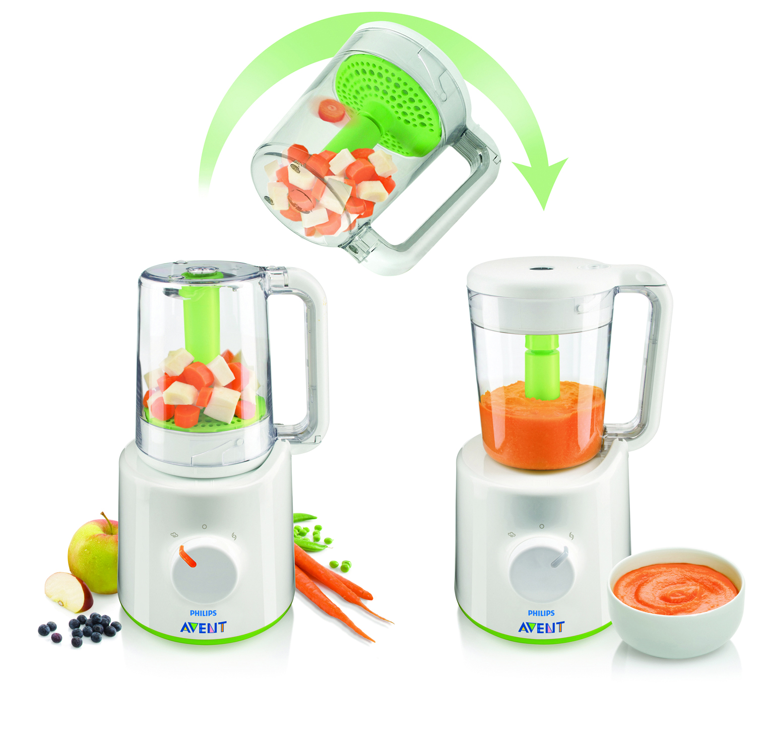 Philips Avent Combined Steamer And Blender Babyroad